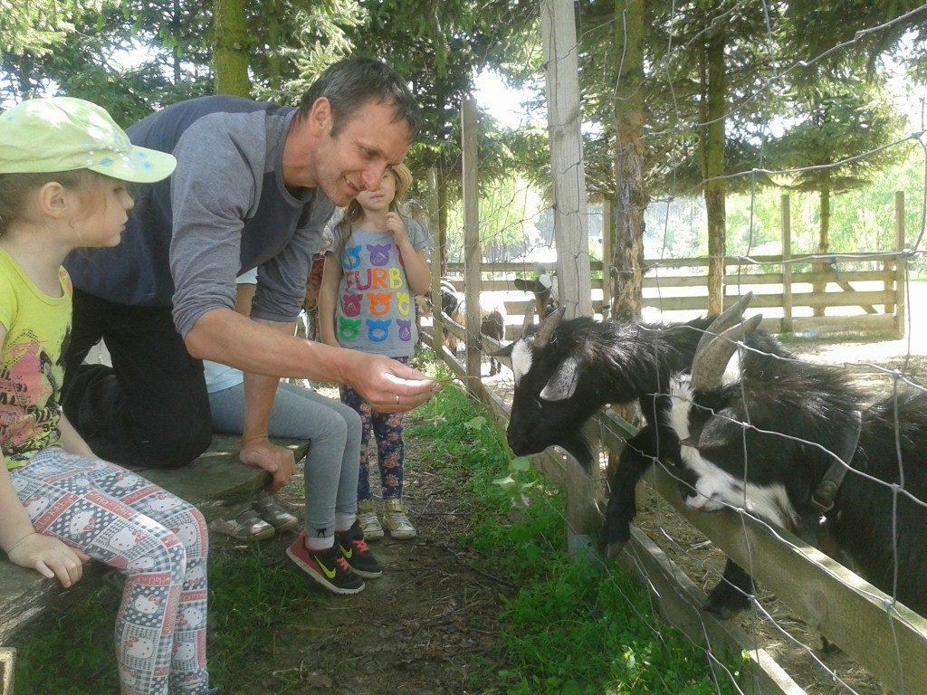 """Wycieczka do Gospodarstwa Agroturystycznego """"Kruczyna"""" w Pęgowie"""