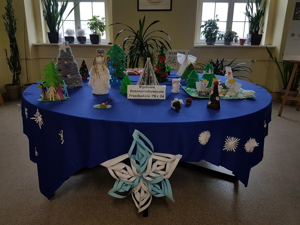 Wystawa Bożonarodzeniowa naszego Przedszkola w Kuratorium Oświaty